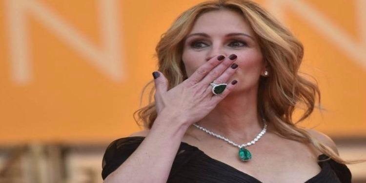 Julia Roberts enfreint  le dress code du Festival de Cannes
