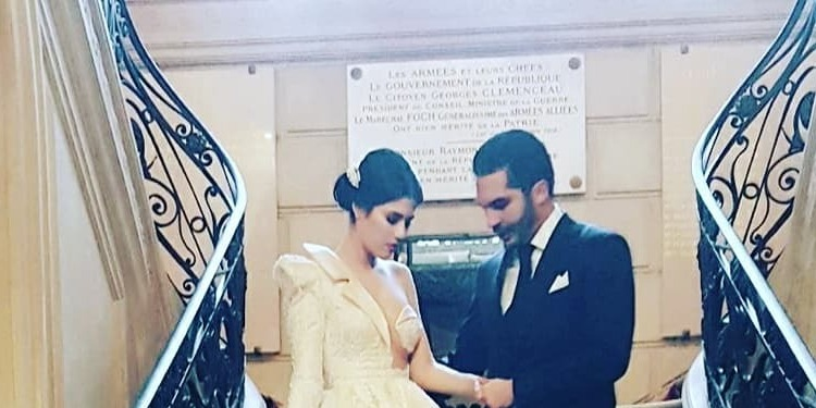 Maram Ben Aziza, osée, même le jour de son mariage (photos)
