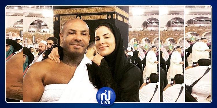 كادوريم ونسرين بن علي يؤديان العمرة !(صور)