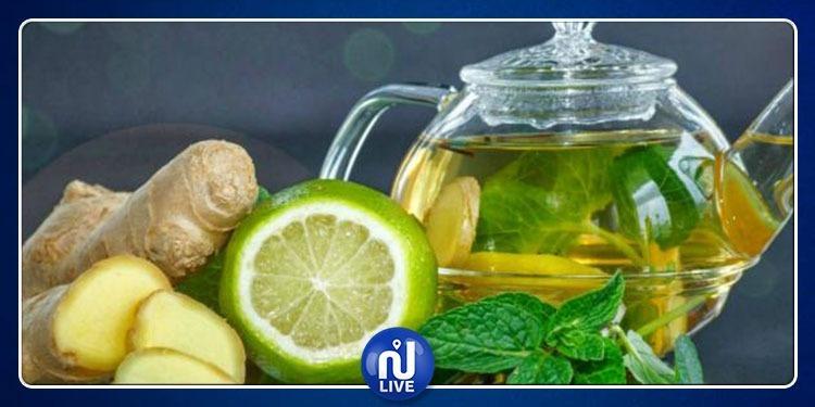مشروب الديتوكس الأخضر  لإنقاص الوزن