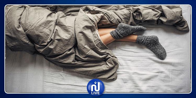 إرتداء الجوارب أثناء النوم مضر في هذه الحالات!