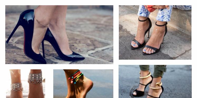 Bracelets de cheville, le « must have » de cet été; comment les porter