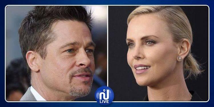 Brad Pitt en couple avec Charlize Theron ?