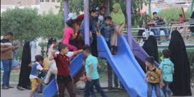 مدينة ألعاب مجانية للأطفال اليتامى وأبناء السجناء وضحايا الحرب