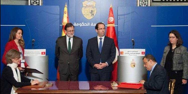 التوقيع على جُملة من الاتفاقيات ومذكرات التفاهم بين تونس وإسبانيا