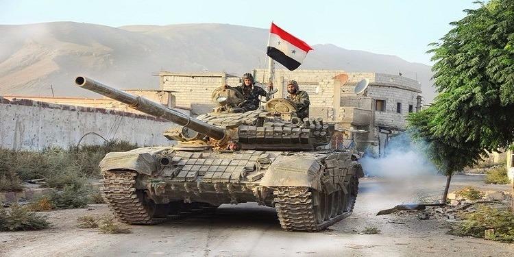 الجيش السوري يحول منطقة المعامل بدمشق إلى مقبرة للإرهابيين