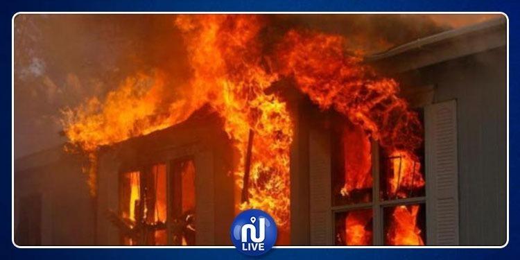 سيدي بوزيد: وفاة رضيع وإصابة شقيقته في حريق بأحد المنازل