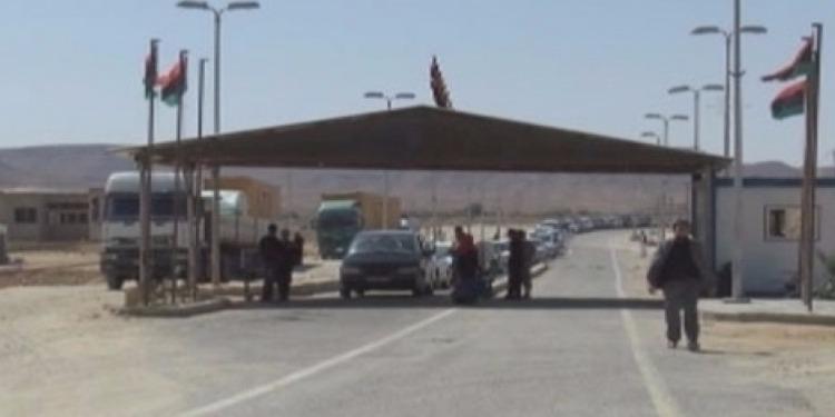 ذهيبة: تواصل غلق المعبر الحدودي في الاتجاهين لليوم التاسع