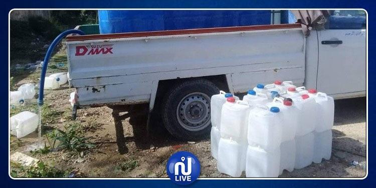 بن عروس: حجز 4000 لتر من المياه مجهولة المصدر