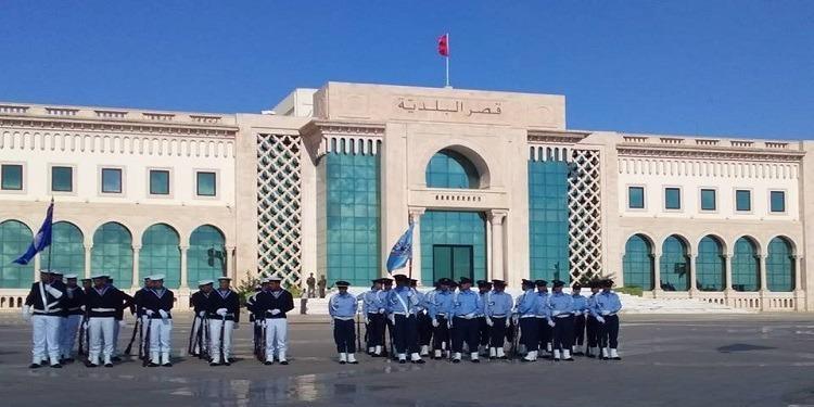 Anniversaire de l'Armée : Levée du drapeau, Place de la Kasbah (Photos)