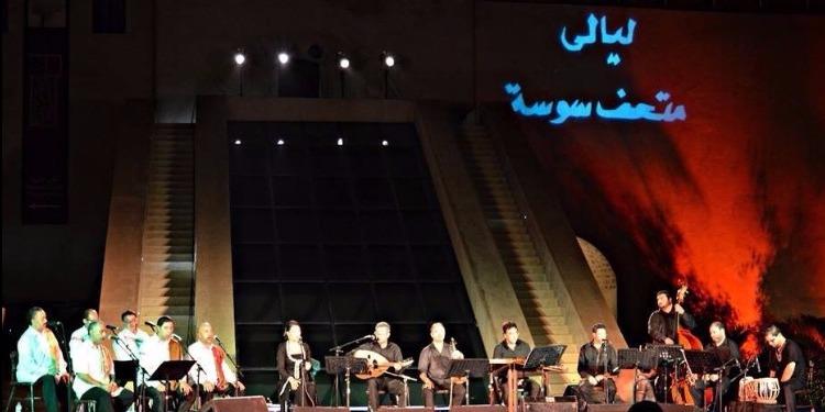 ليلى حجيّج في إفتتاح ليالي متحف سوسة