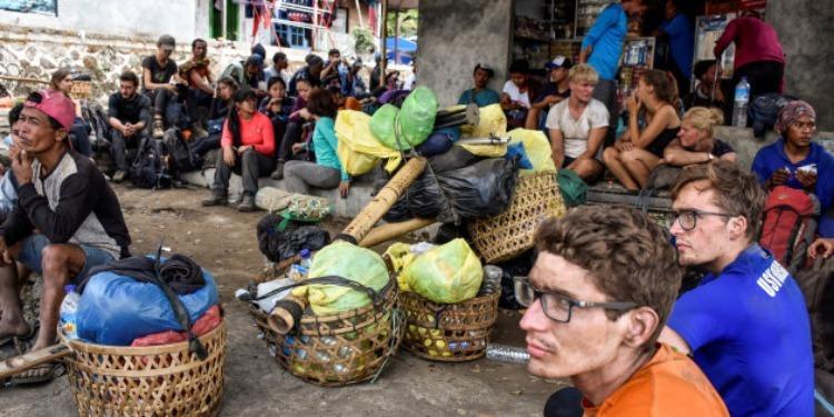 Indonésie: Plus de 500 randonneurs bloqués, au mont Rinjani