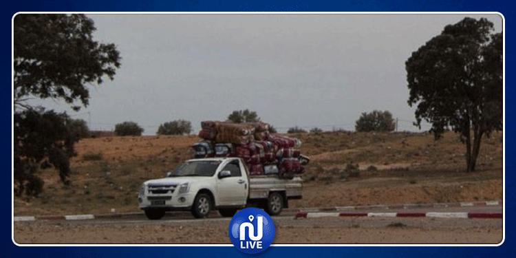 وحدات الحرس الوطني تحجز بضائع بقيمة 260 ألف دينار بهذه المناطق