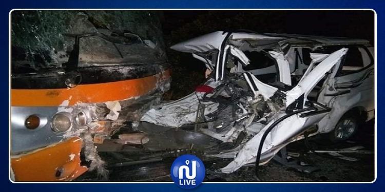 الجزائر: سقوط عدد من القتلى في حادث اصطدام مروع بين حافلتين (صور)