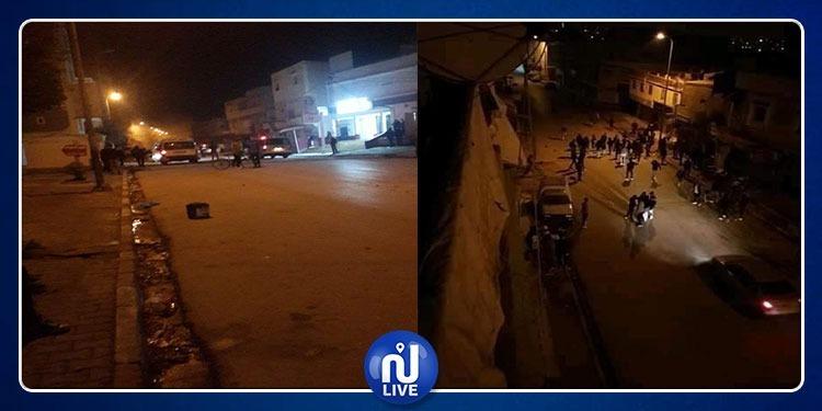 حصيلة المواجهات التي جدت بـ حي التضامن (صور)