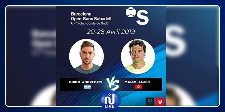 Tournoi de Barcelone : Malek Jaziri au second tour