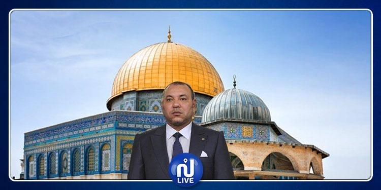 Mohammed VI contribue à la restauration de la mosquée Al-Aqsa