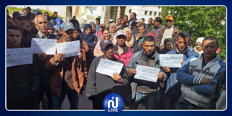جندوبة: عمال الحضائر في بوسالم وبلطة بوعون ينفذون وقفة احتجاجية