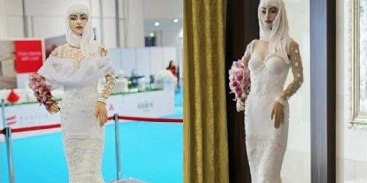 أغلى كعكة في العالم على شكل عروس مرصّعة بالألماس (صور+ فيديو)