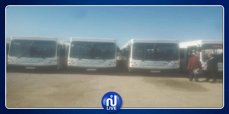 الكاف: تعزيز أسطول شركة النقل بحافلات جديدة