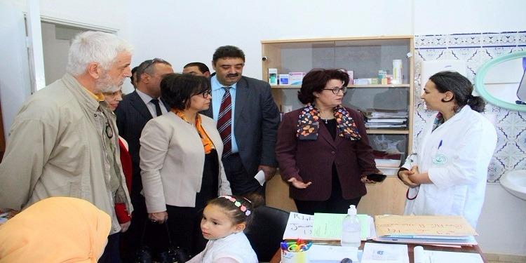 خلال زيارة فجئية للمستشفى المحلي بحي التضامن: سميرة مرعي تأذن بفتح قسم الاستعجالي الجديد
