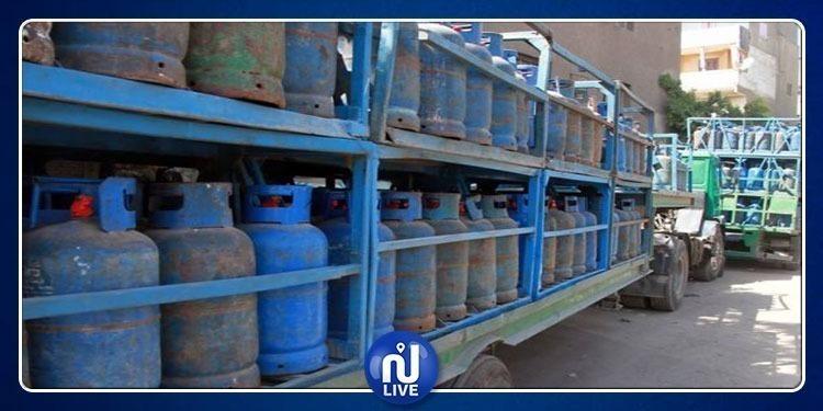 إلغاء قرار تعليق توزيع قوارير الغاز المنزلي