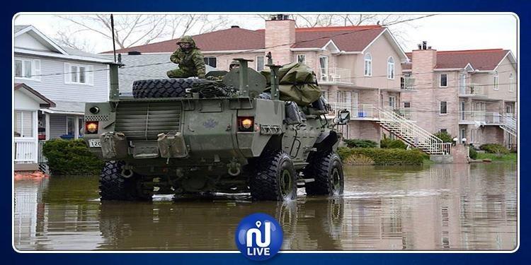 كندا: الجيش يتدخل بعد فيضانات عارمة