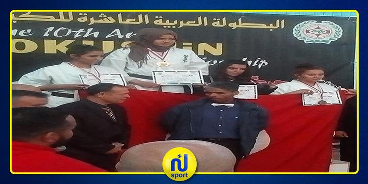 تونس تحرز المركز الاول في البطولة العربية للكيوكوشينكاي