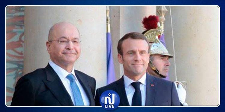 Macron se rend en Irak, d'ici la fin 2019