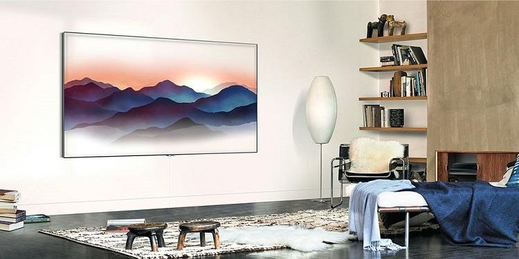 Samsung : La nouvelle télévision à écran caméléon (photo)