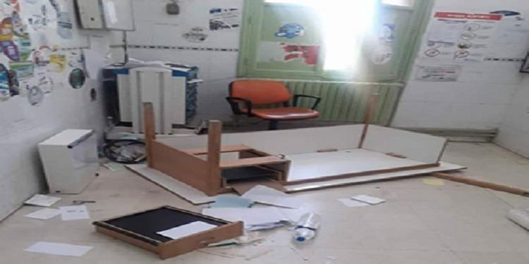 Un individu détruit le bureau d'un médecin à l'hôpital régional de Gafsa