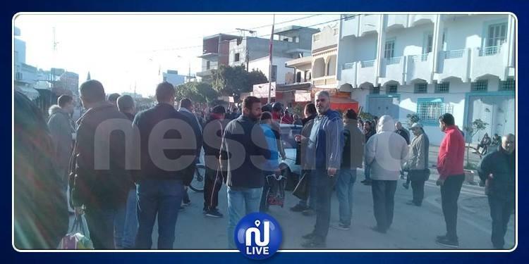 سوسة: سيدي بوعلي في إضراب عام (فيديو)