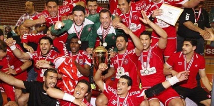 البطولة العربية للأندية البطلة النجم الرياضي الساحلي في المربع الذهبي