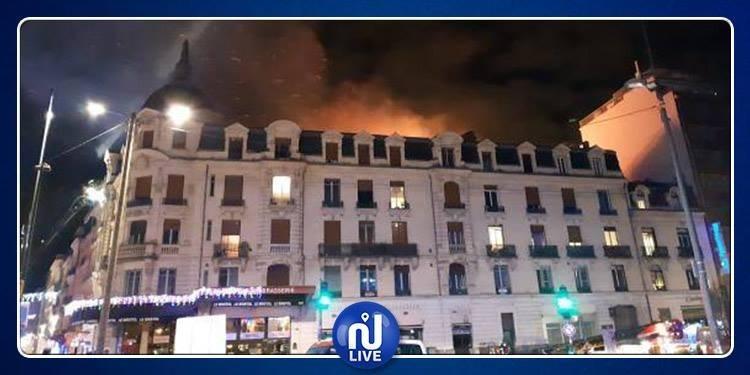 فرنسا: 19 جريحا في حريق بمدينة تولوز (صور+فيديو)