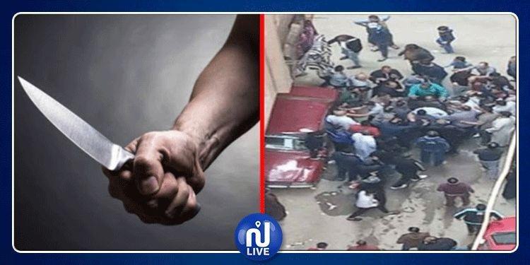 لحظة القبض على قاتل إمام مسجد أثناء صلاة الجمعة بمصر (فيديو)
