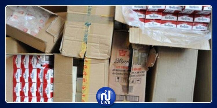قابس: حجز 3500 علبة سجائر مهربة