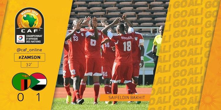 شان المغرب 2018: السودان ثاني المتأهلين للدور النصف النهائي