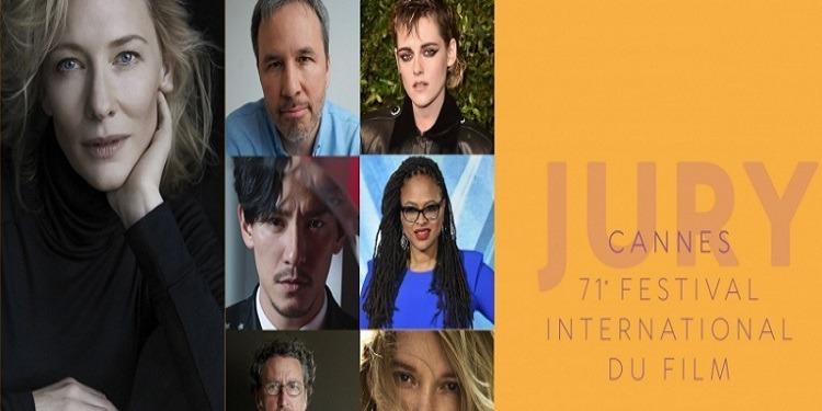 7 nationalités et 5 continents, au jury du festival de Cannes