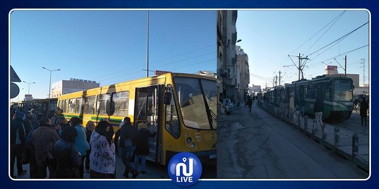حي الانطلاقة: منع وسائل النقل من العمل والمطالبة بإعتذار (صور)