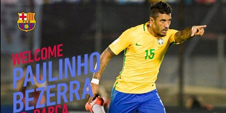برشلونة الإسباني يتعاقد مع اللاعب البرازيلي باولينهو