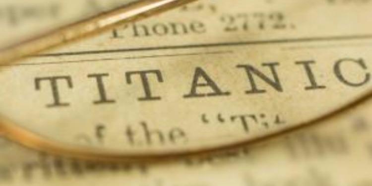 Une  lettre d'une victime du Titanic vendue aux enchères pour une somme record (photo)
