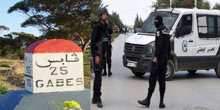 قابس: النقابة الجهوية لقوات الأمن الداخلي  تنظم وقفة إحتجاجية