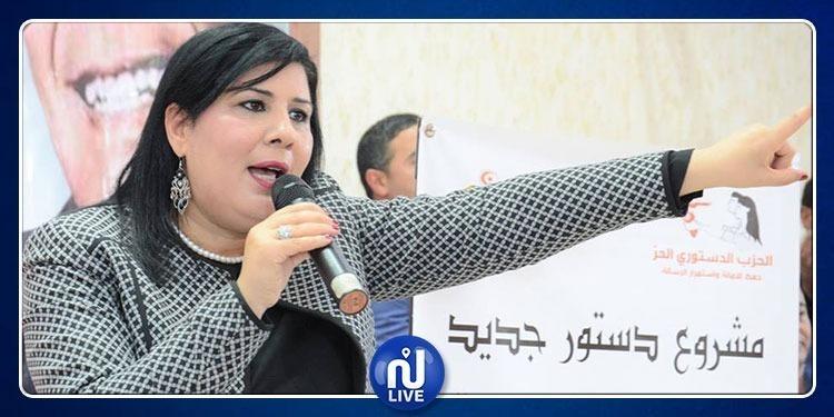 عبير موسي: هدفنا الحصول على المرتبة الأولى في البرلمان