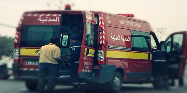 غار الدماء: وفاة أب لطفلين إثر حادث اصطدم بسيارة أجنبية