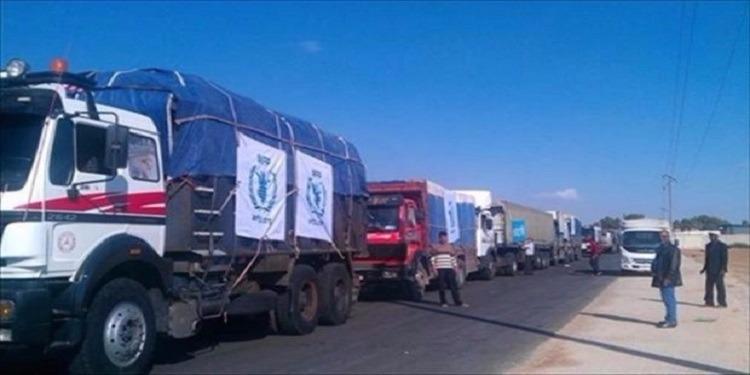 الجزائر تسلم مناطق ليبية 30 طن من المواد الغذائية والأدوبة