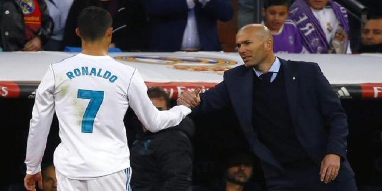 زيدان يؤكد أن ريال مدريد لن يناقش وضعية رونالدو