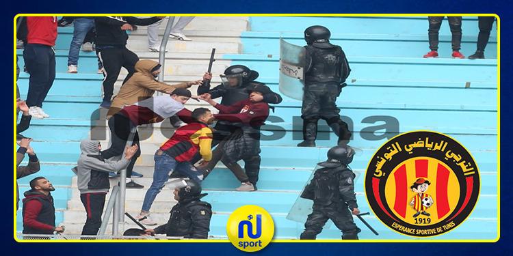 القبض على 28 شابا من احباء الترجي الرياضي اثر مباراة نجم المتلوي