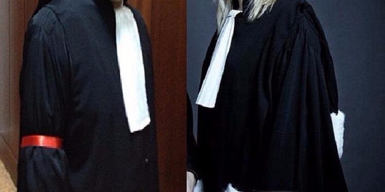 مُحامو المهديّة يرفعون الشارة الحمراء في كافة محاكم الولاية