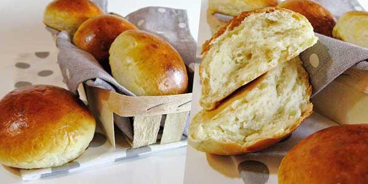 خبز صغير طري وسهل التحضير