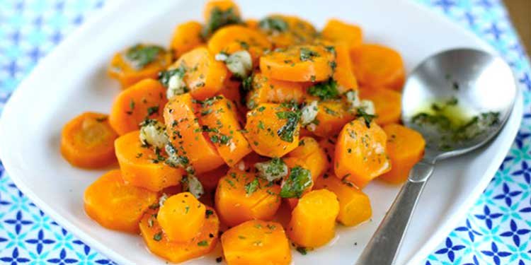 Salade de carottes marocaine